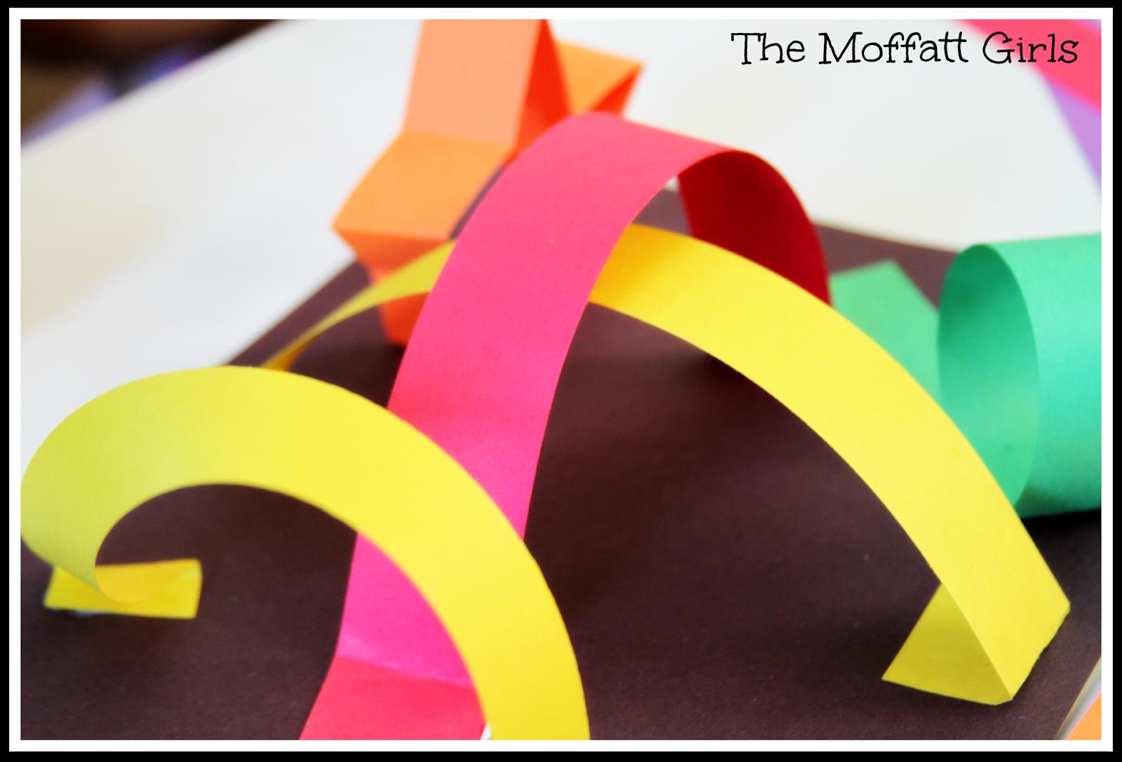 The Moffatt Girls An Easy 3 D Art Project