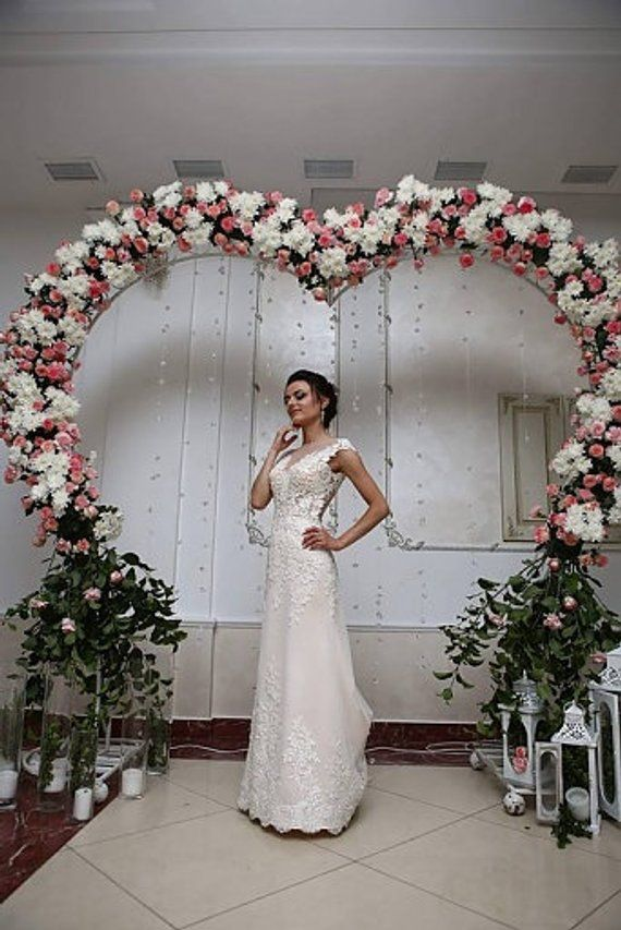 Wedding Arch Heart Gift Pendant Heart For Flowers Heart Shaped Wedding Arch Wedding Backdrop