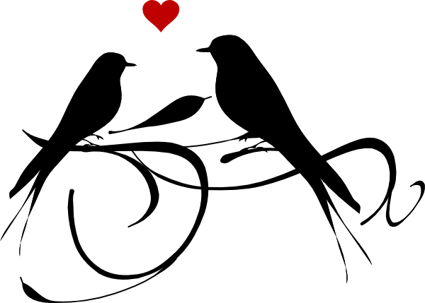 purple love birds clipart clipart panda free clipart images design rh pinterest com love birds clipart wedding love bird cage clipart