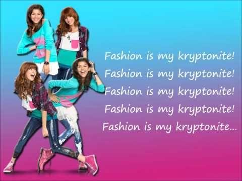 Fashion Is My Kryptonite Lyrics By Bella Thorne And Zendaya Met