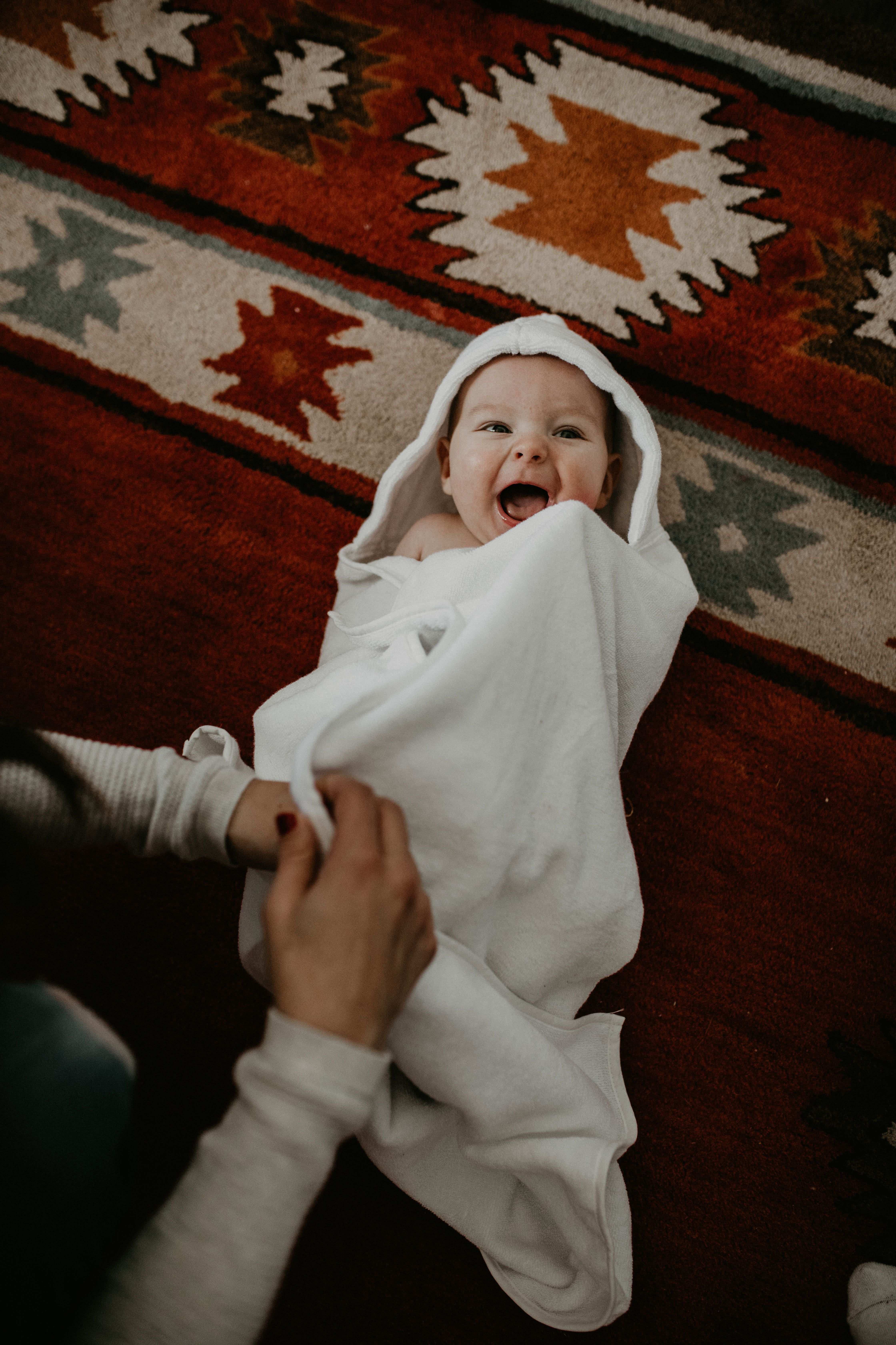 Parker Baby Co Hooded Bath Towels Available In Both Infant
