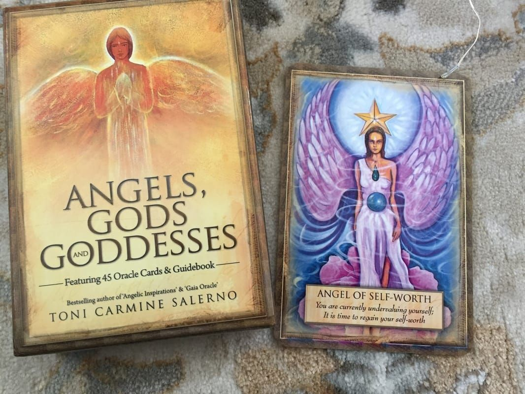 ORACLE CARD READING You are worthy of an amazing life
