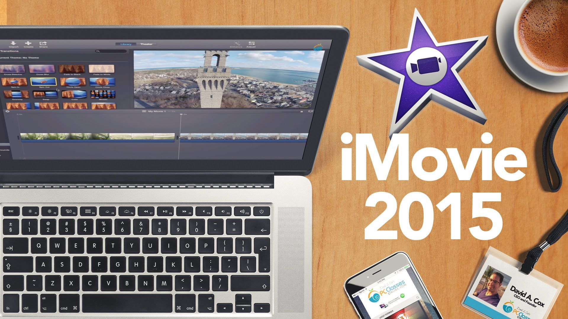 This iMovie tutorial will teach you all the basics of video