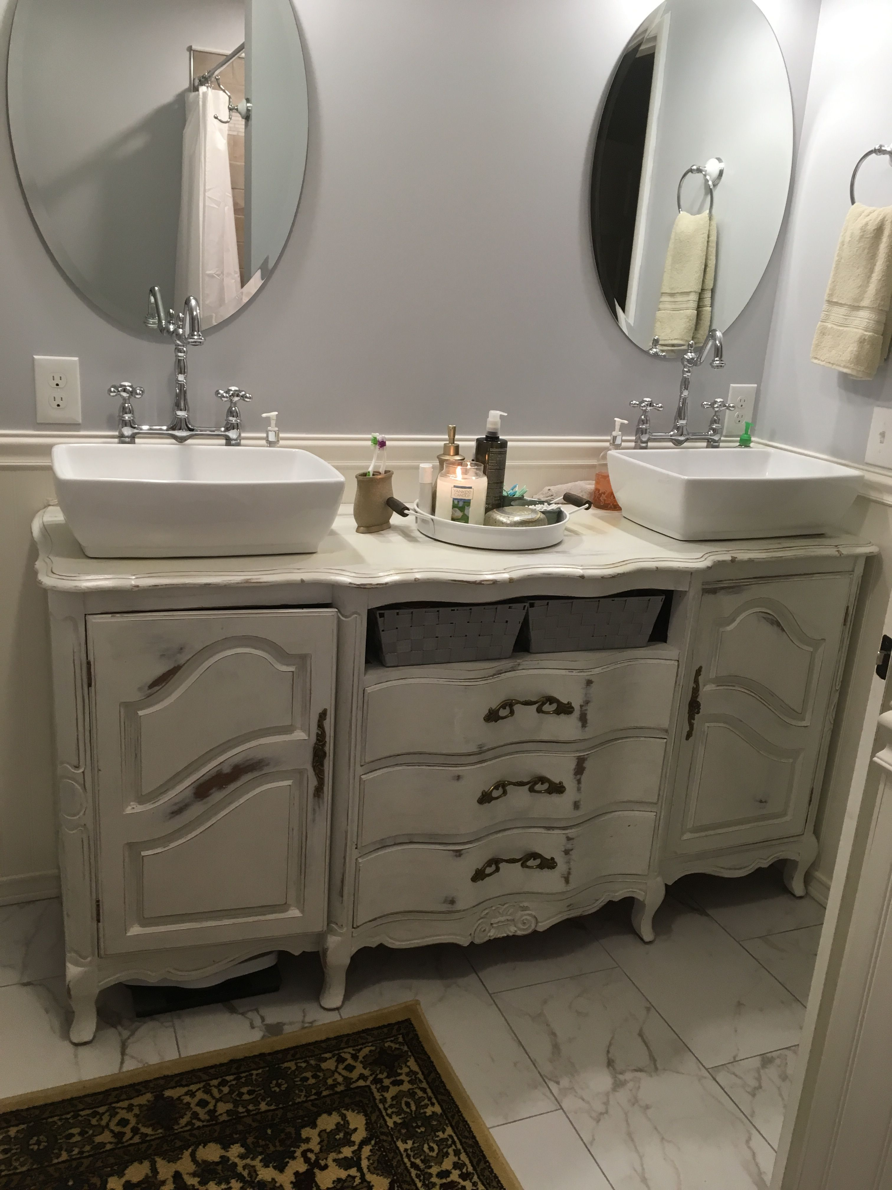 Pin By Karen Finnegan On House Before And After Vanity Double