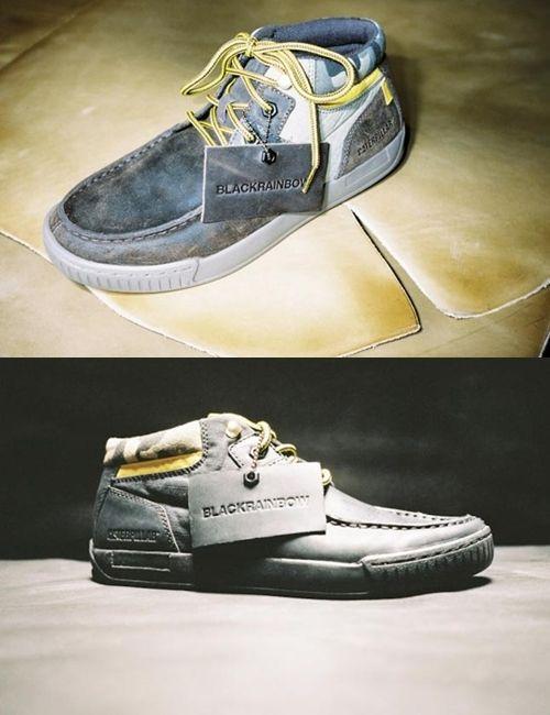 zapatos blackrainbow azules