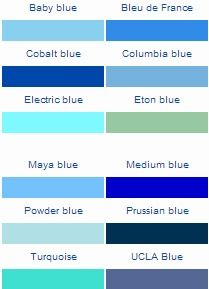 die besten 25 shades of blue color ideen auf pinterest blaut ne farbe blau und blau ist die. Black Bedroom Furniture Sets. Home Design Ideas