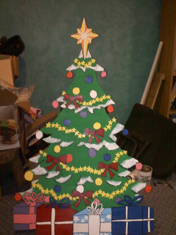 A List Of My Recent Craft Projects Christmas Tree Yard Art Christmas Yard Art Christmas Yard Decorations