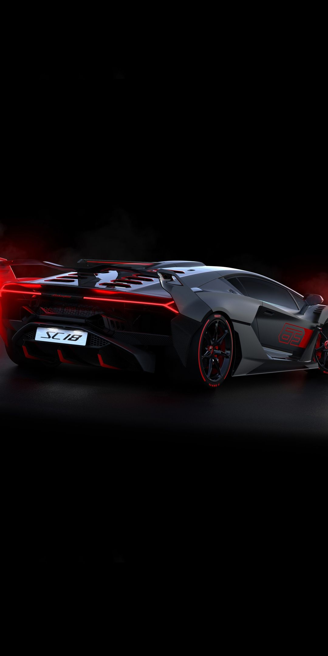 Side view lamborghini sc18 sports car 2018 1080x2160 wallpaper car wallpapers lamborghini - Car side view wallpaper ...