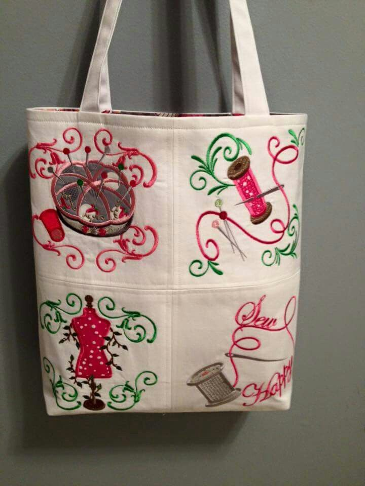 AG Sew  designs tote