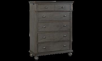 Aspenhome Oxford Peppercorn 5 Drawer Chest Storage Furniture Bedroom Furniture Luxe Furniture