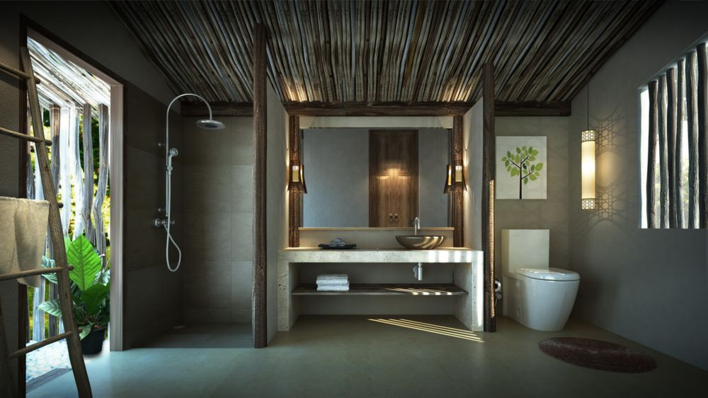 Resort bathroom design google search bathroom resort for Loft bathroom ideas design
