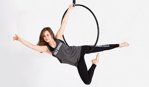 Aerial Hoop im aria arte - Pole Dance Halle