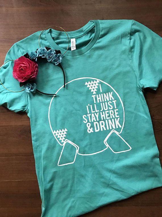 Epcot shirt // world showcase shirt // disney shirt //