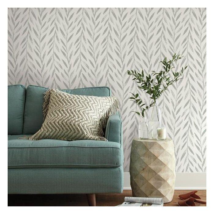 Willow Premium Peel And Stick Wallpaper In 2020 Home Wallpaper Magnolia Homes Joanna Gaines Wallpaper