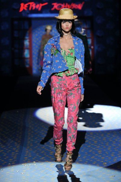 "Betsey Johnson Spring 2009 ""Betsey Betsey Land"""