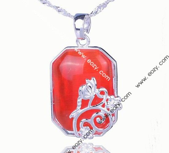Wholesale 35x20mm red polygon flower 925 sterling silver gemstone wholesale 35x20mm red polygon flower 925 sterling silver gemstone fit necklace pendant shopping onlinebuy aloadofball Images
