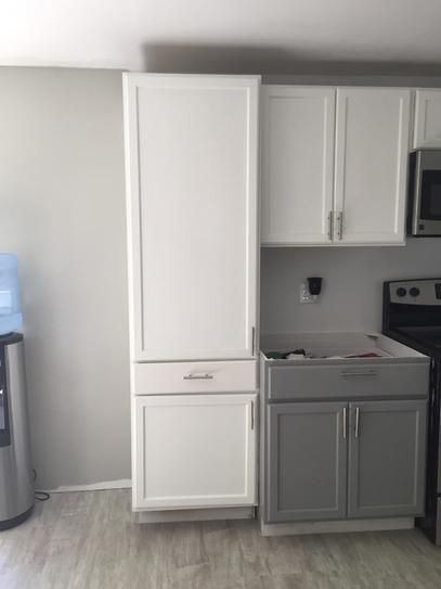 24x84x18 In Pantry Cabinet In Unfinished Oak Ucdr2484ohd At The