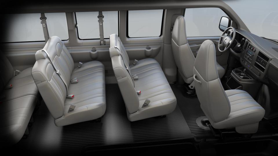 Chevrolet 2014 Express Cargo Passenger Van 12 Seats 2 3 3 4