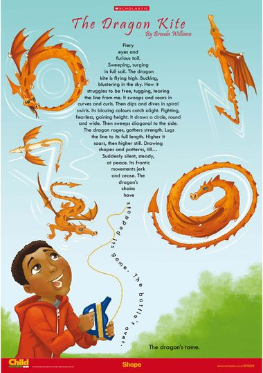 The Dragon Kite poem link | Flying Dragons | Pinterest | The o ...