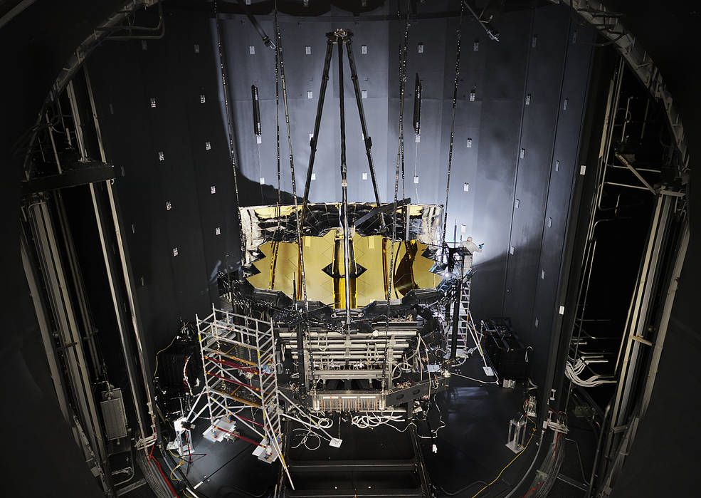 James Webb Space Telescope Completes Final Cryogenic ...