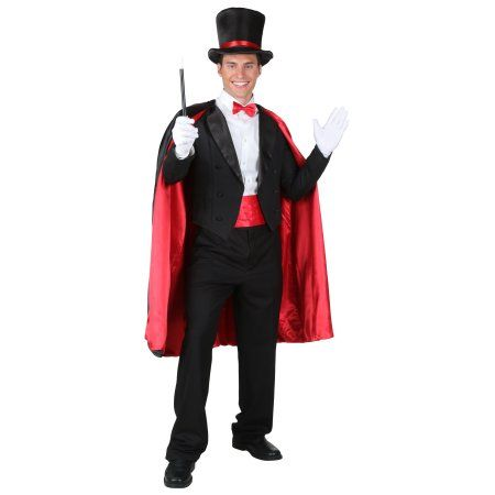 Adult Magic Magician Costume-- gonna be super cheapy and cheezy - lowes halloween