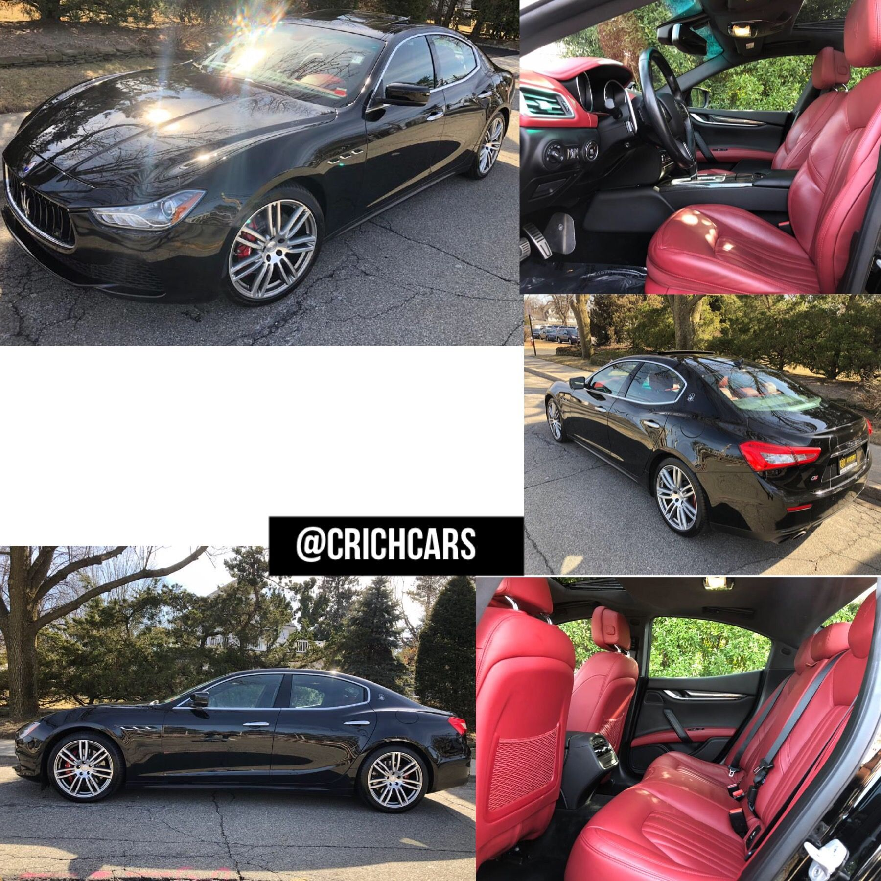 2015 Maserati Ghibli 4dr Sdn S Q4 26K MILES ONLY $379 A MONTH TEXT 516-476-1314 (CHRIS)   2015 ...
