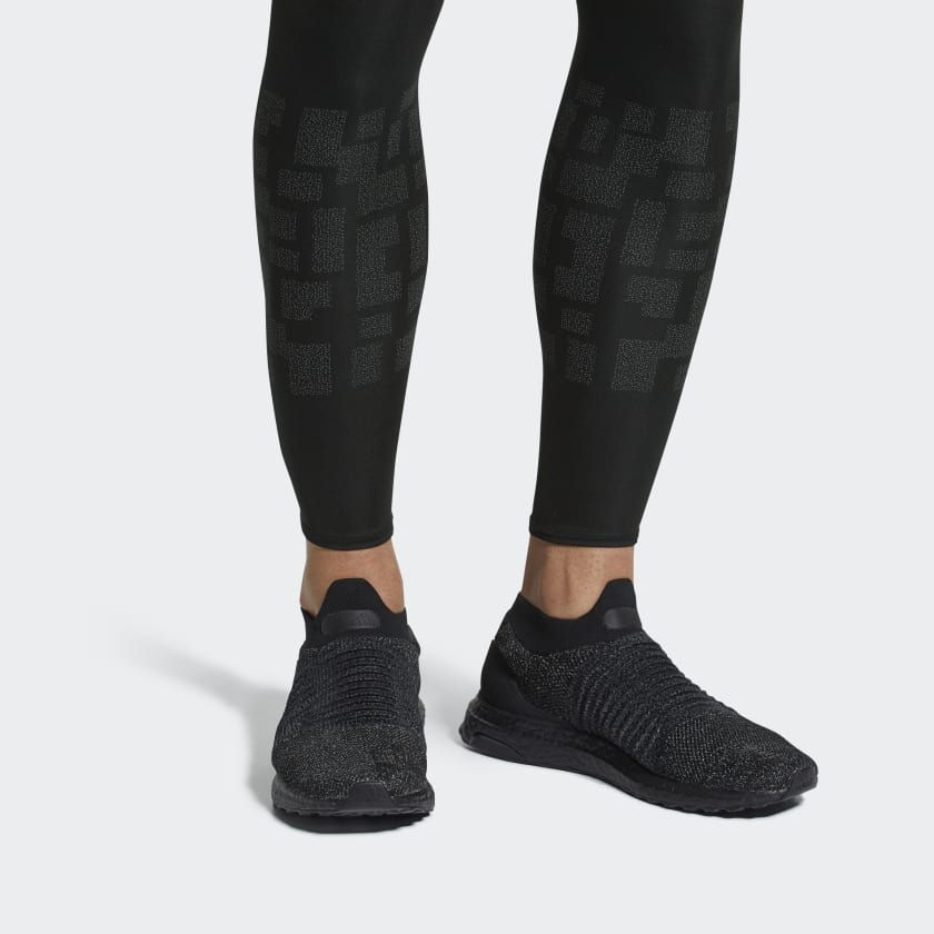 73943eb9c51d5 Ultraboost Laceless Shoes Black BB6222. Ultraboost Laceless Shoes Black BB6222  Adidas ...