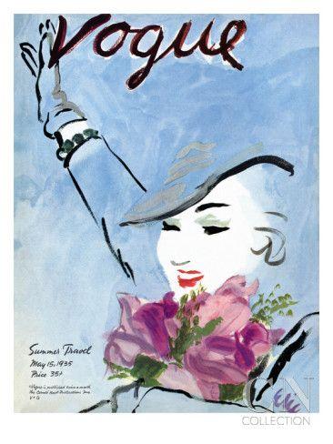 Art Deco-Vogue Poster//Vintage Art Print /'Lipstick/'//16x20in 1933 Reproduction