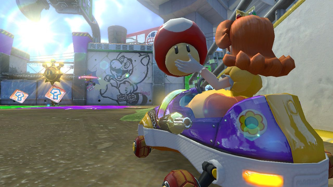 Need to offload screens of Mario Kart 8 Deluxe — share your own and discuss the ART! - NeoGAF