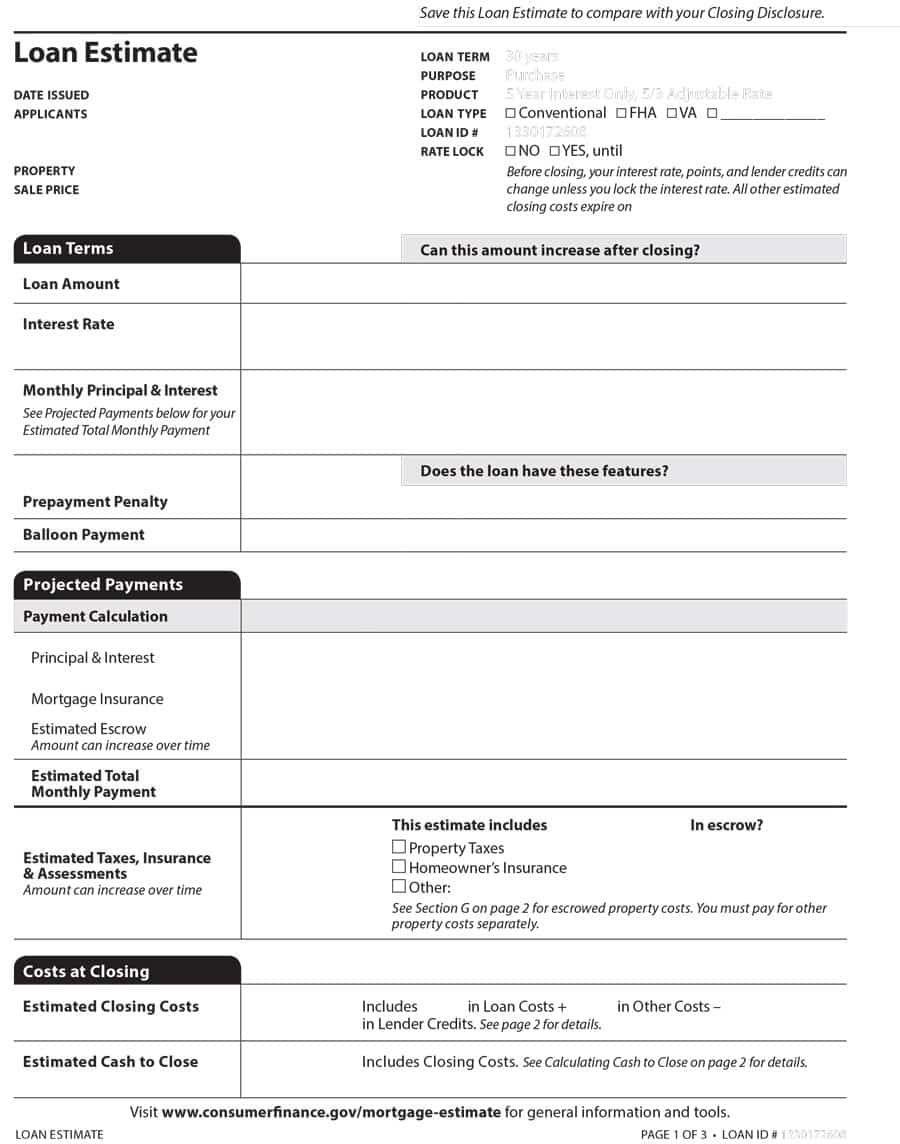 12 job estimate templates word excel pdf templates www