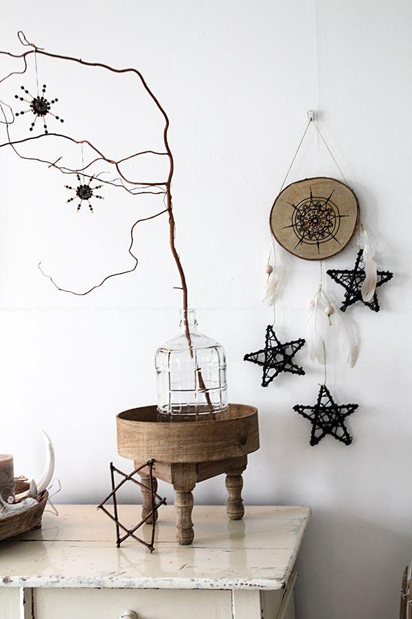 weihnachtsschmuck im bohostyle selbermachen mandala meets. Black Bedroom Furniture Sets. Home Design Ideas