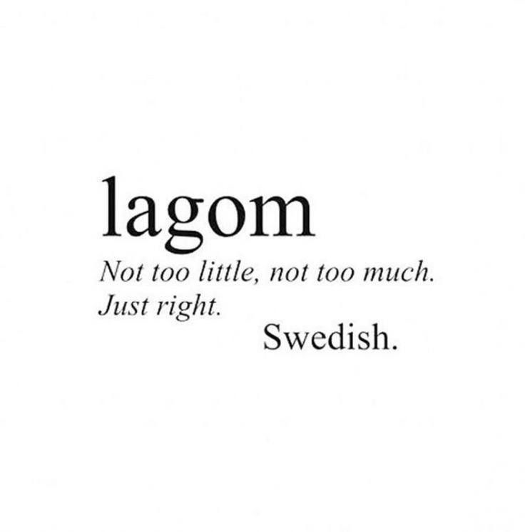 Move over hygge: Lagom is the new lifestyle trend taking over 2017