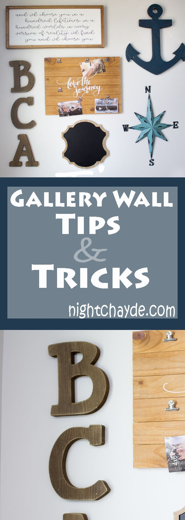gallery wall tips and tricks, gallery wall, gallery wall how to, how to create a gallery wall, collage wall, nautical collage wall, wall art, wall decor, hobby lobby, home decor, gallery, wall, gallery wall tricks, gallery wall hack, interior design, design, home design,
