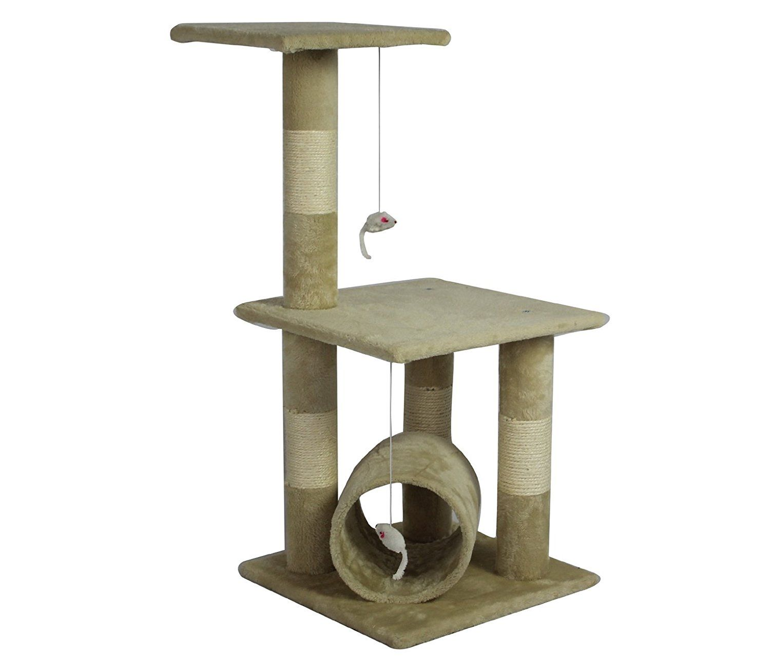 34u0027 Cat Tree Condo Furniture Scratch Post Pet House *** Check This Awesome
