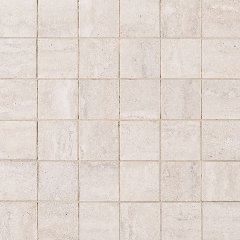 Nvenewhi2x2 Veneto White 2x2 Small Square Mosaic Porcelain Mosaic Tiles Mosaic Veneto