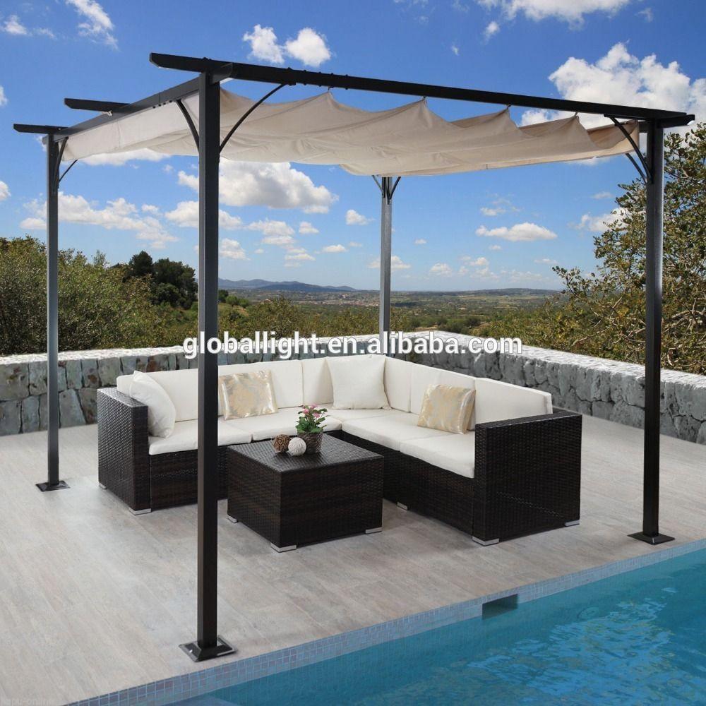 Metal Pergola And Its Benefits In 2020 Metal Pergola Outdoor Sectional Sofa Pergola