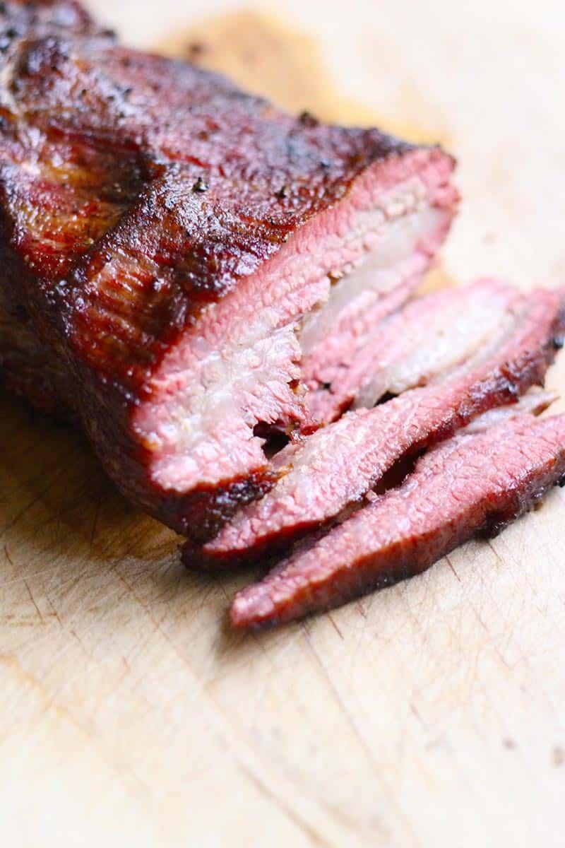 Easy texas style smoked brisket recipe smoked brisket