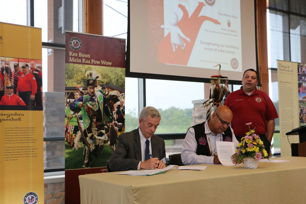 Pokagon Band to contribute 500K to college technical