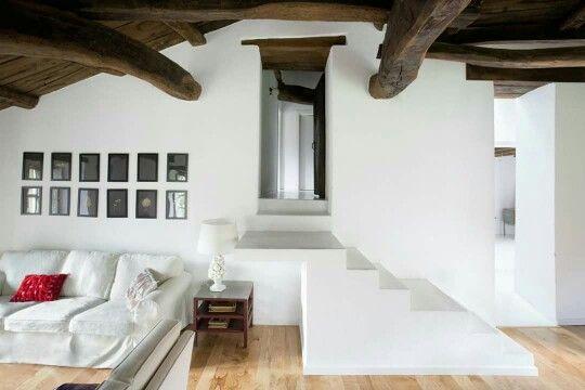 Casa clásica Galicia España