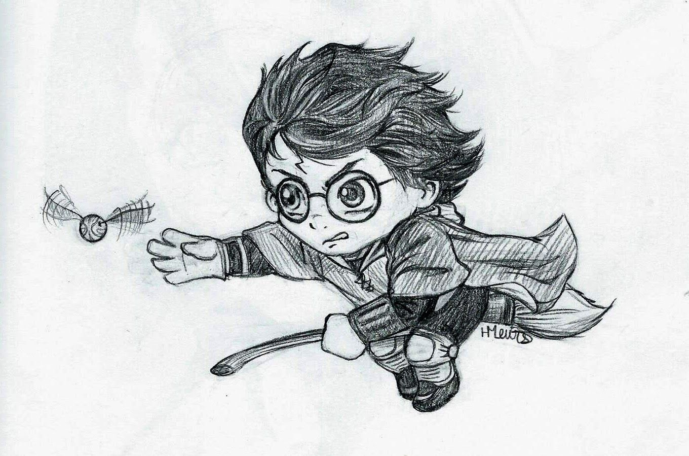 Quidditch Drawing
