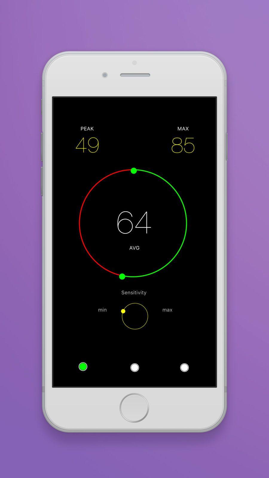 Sound Level Meter 2 #Music#Utilities#apps#ios | Game Ios