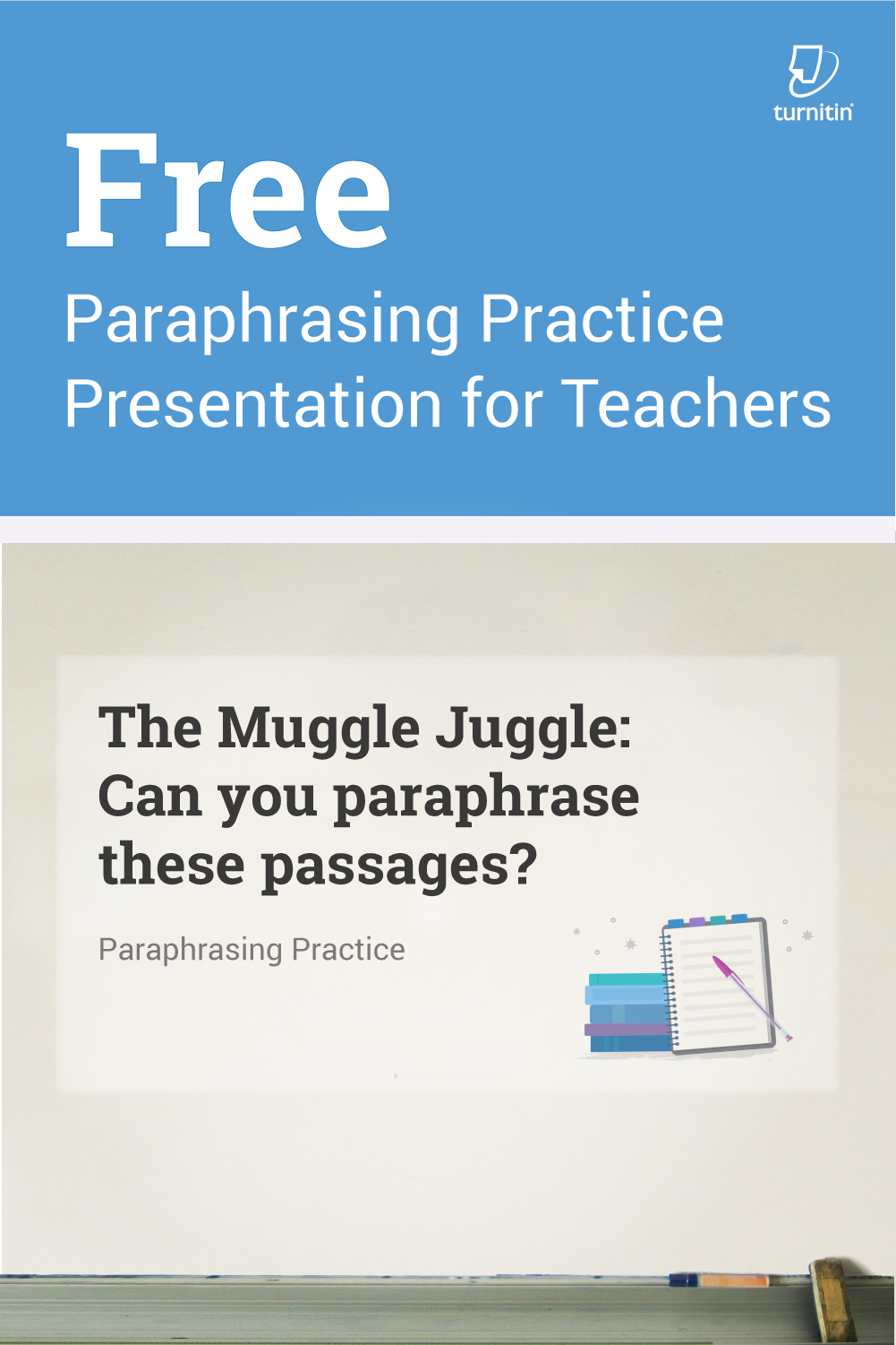 Paraphrasing Practice Presentation For Teacher Free Writing Skill Can You Paraphrase Yourself