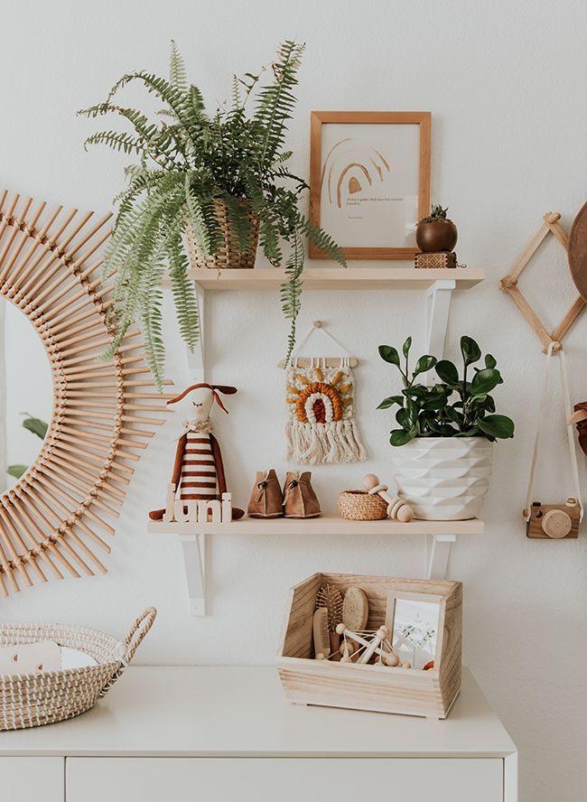 Modern Neutral Nursery Full of Plants