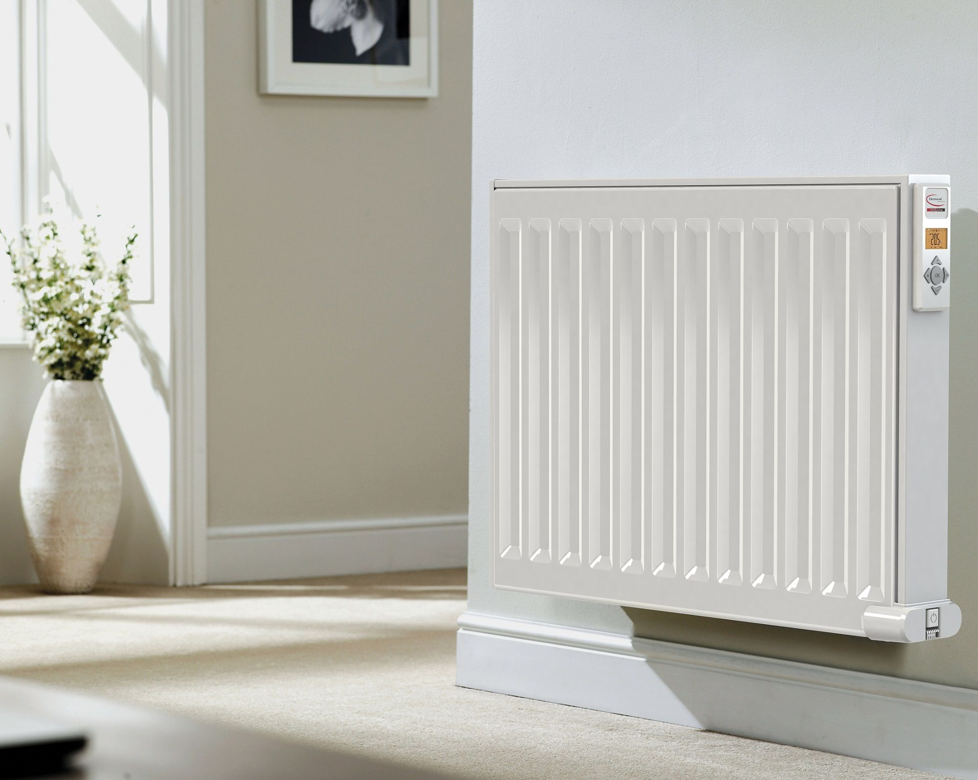 Digi Line Electric Radiators With Images Electric Radiators Radiators Green Living