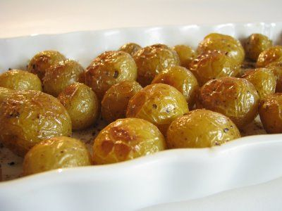 Simple Baby Dutch Potato recipe. Pinning so I don't forget. It's been known to happen...