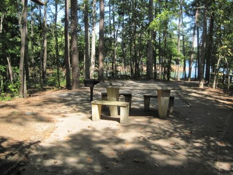 24++ Lake lanier camp site Campgrounds