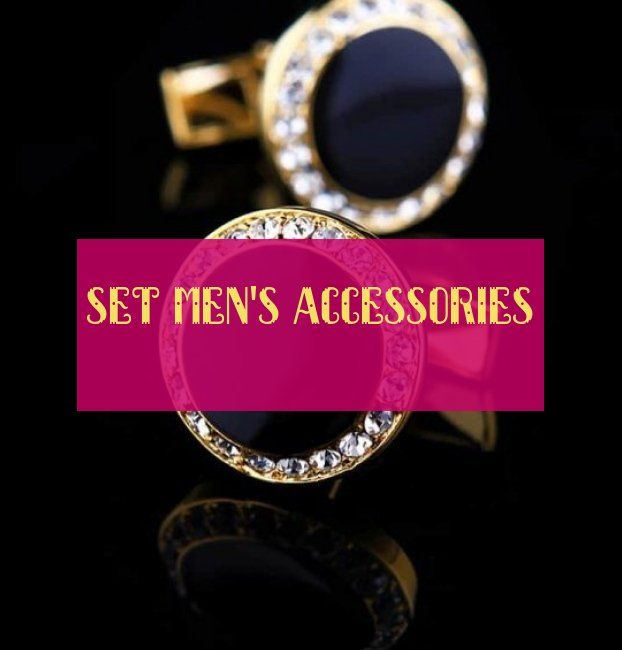 Set Men's Accessories Set Herrenaccessoires