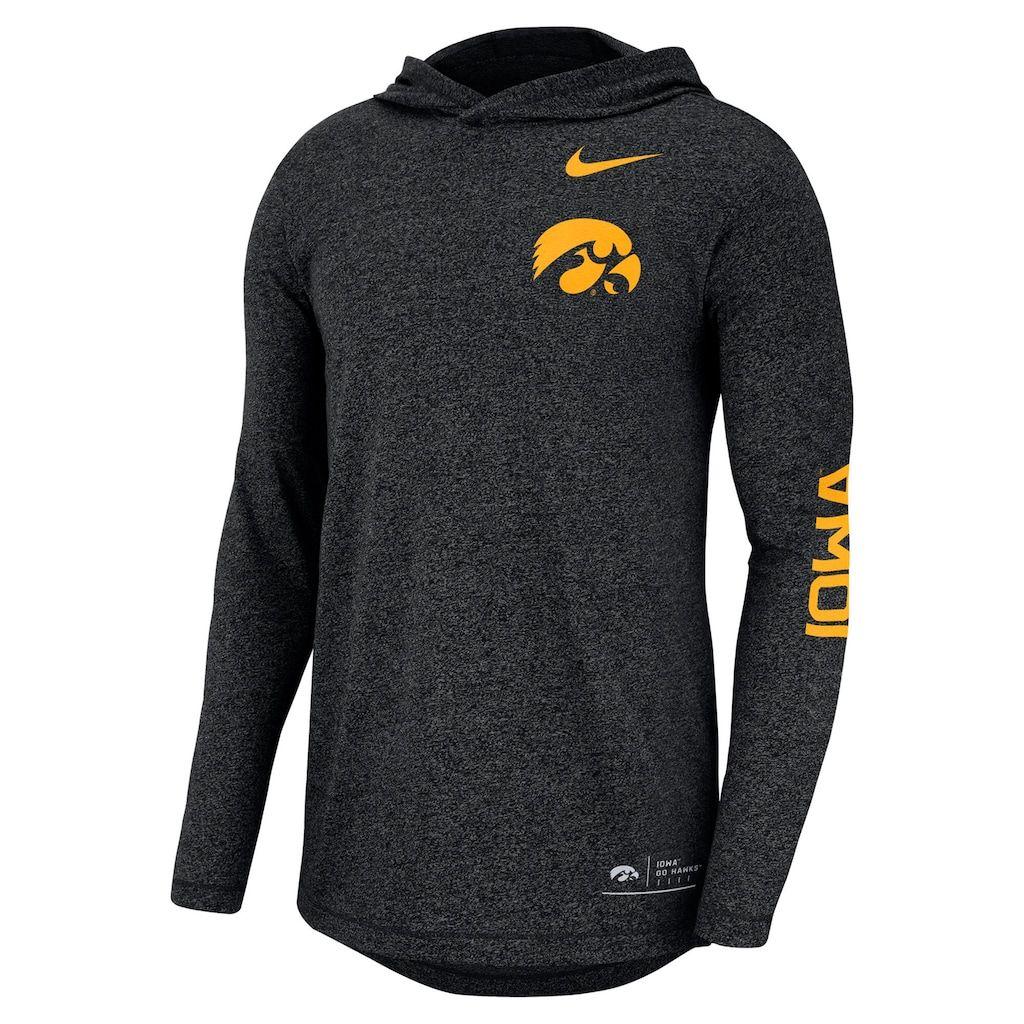 Men S Nike Iowa Hawkeyes Hoodie Tee Hoodie Tee Tiger Hoodie Nike Men [ 1024 x 1024 Pixel ]