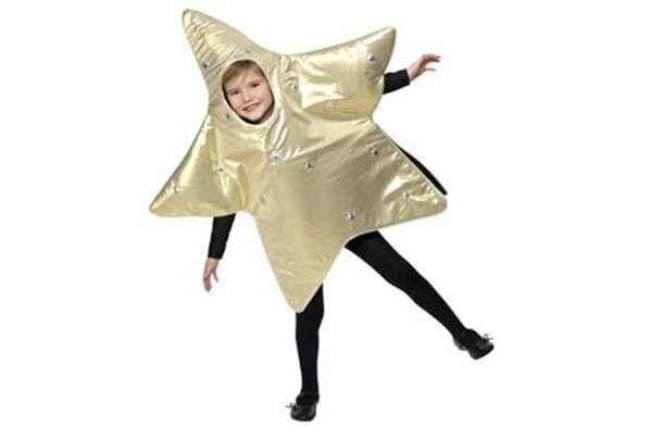 Disfraz de estrella para niños: Fotos de algunas ideas - Disfraz de estrella: Plateado y negro