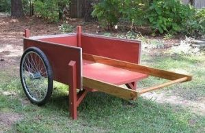 homemade garden cart